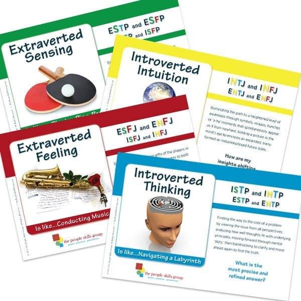 The People Skills Group Metaphor Cards Sample